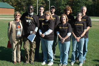 Volunteers 2009 in New Boston